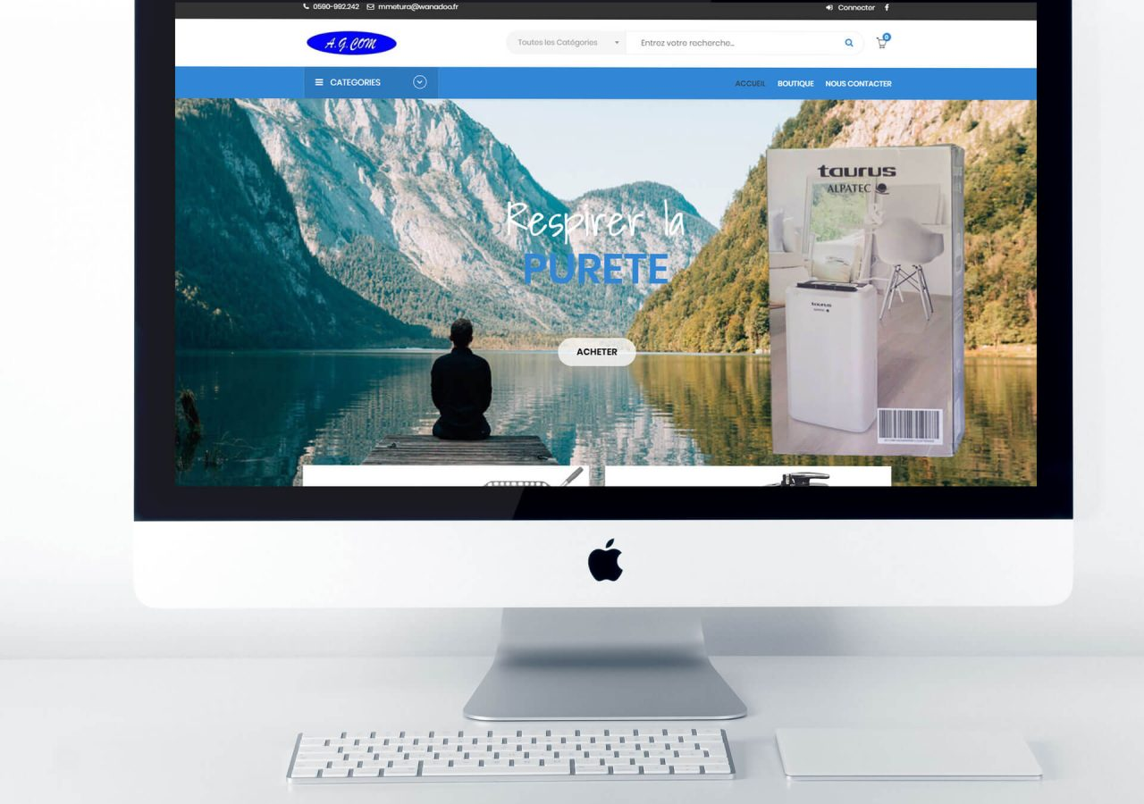 creation site ecommerce guadeloupe
